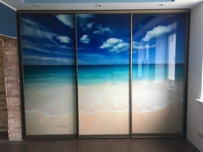 Шкаф-Купе Фотопечать Пляж