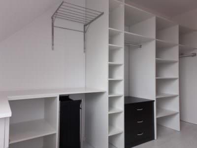 Шкаф в Гардеробную без Дверей