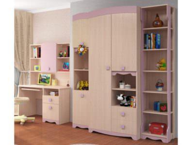 Шкаф для Детской  с Распашными Фасадами